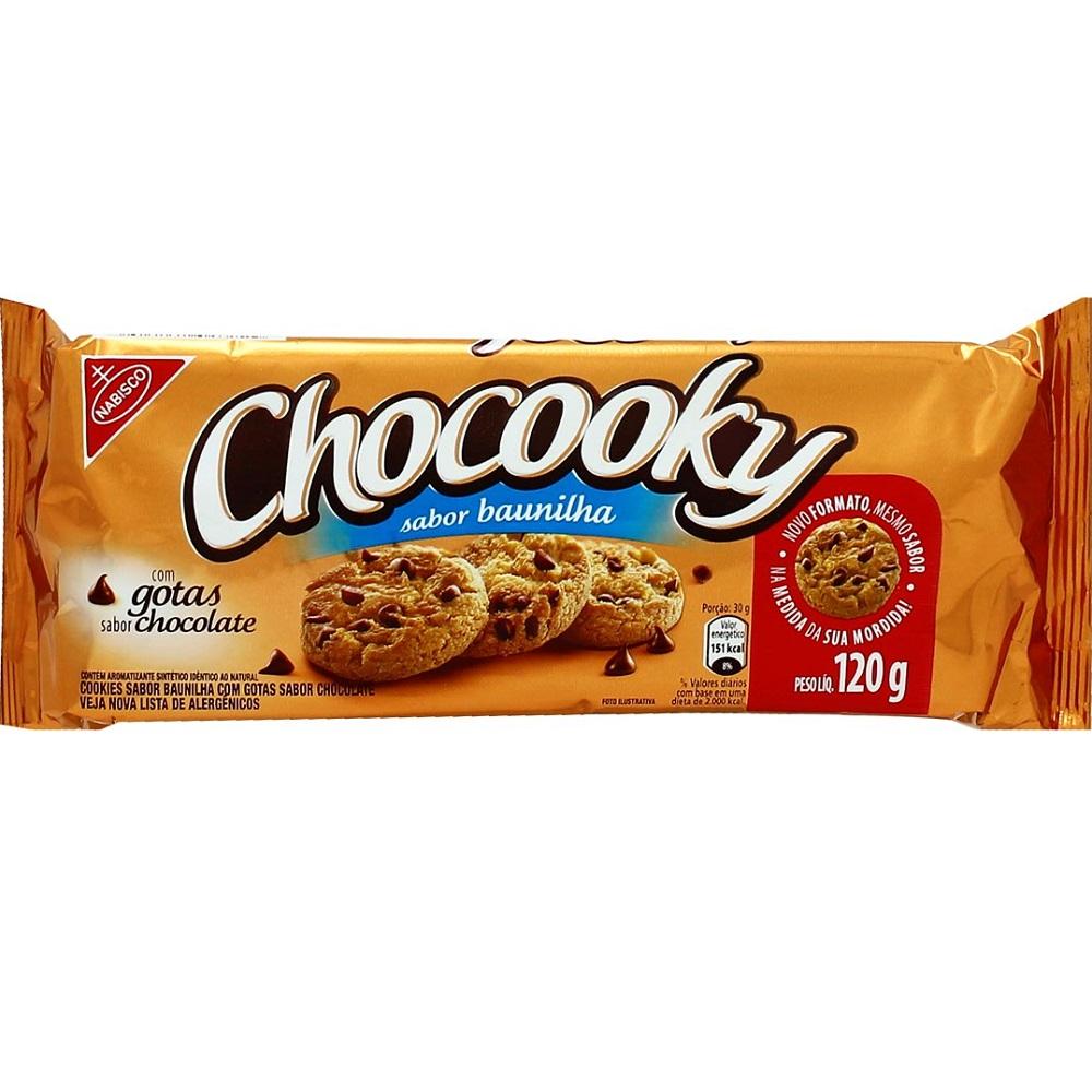 Biscoito Chocolate 120g 1 UN Chocooky