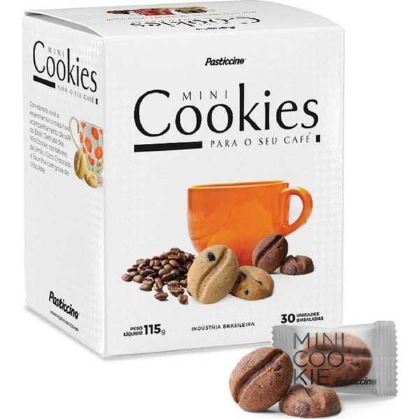 Mini Cookie Chocolate 3,5g CX 30 UN Pasticcino