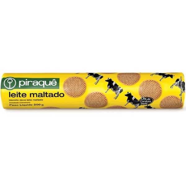 Biscoito Leite Maltado 200g 1 UN Piraquê