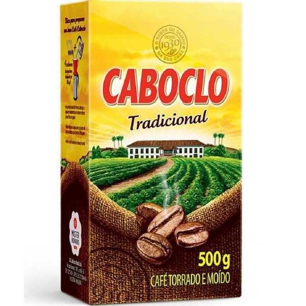 Café em Pó Tradicional 500g 1 UN Caboclo