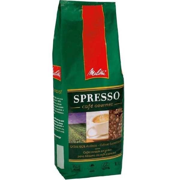 Café em Grão Spresso Gourmet 1kg 1 UN Melitta
