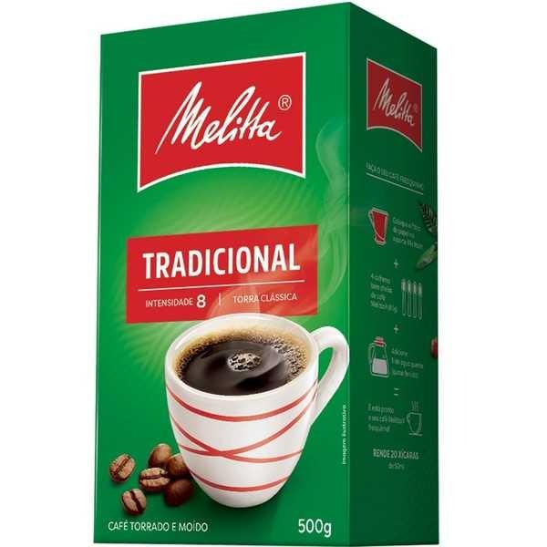 Café em Pó Tradicional 500g 1 UN Melitta