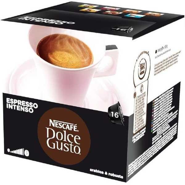 Cápsula de Café Dolce Gusto Espresso Intenso 8g CX 16 UN Nescafé