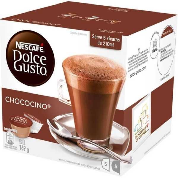 Cápsula de Chococino Dolce Gusto 12,9g CX 10 UN Nescafé