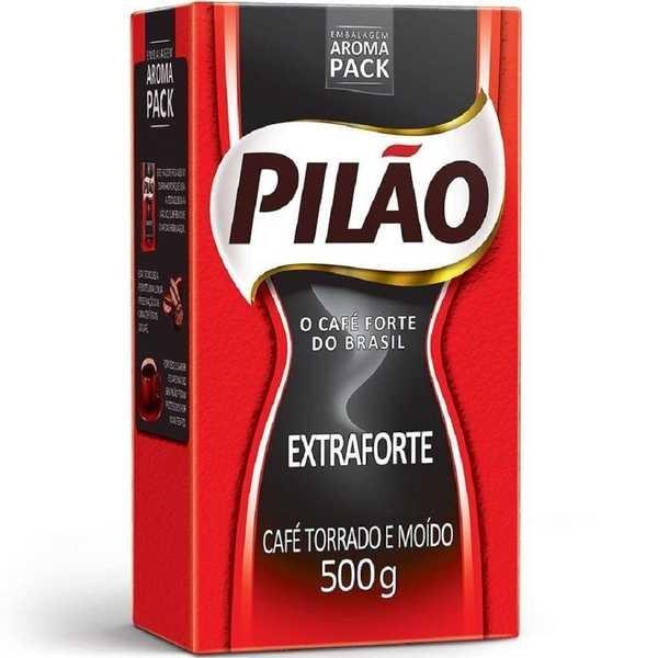 Café em Pó Extra Forte 500g 1 Pacote Pilão