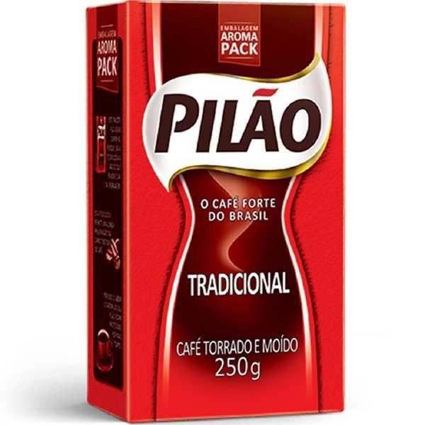 Café em Pó Tradicional 250g 1 UN Pilão