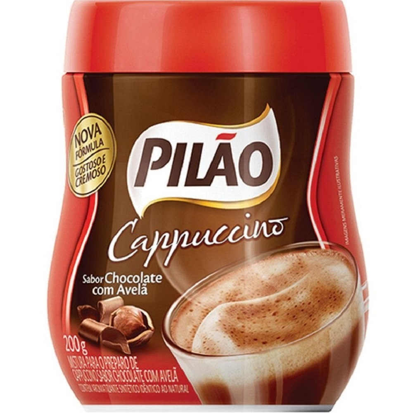 Cappuccino Chocolate com Avelã 200g 1 UN Pilão