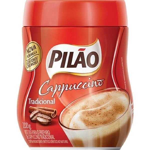 Cappuccino Tradicional 200g 1 UN Pilão