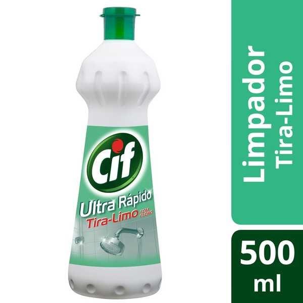 Limpador para Banheiro Tira Limo Squeeze 500ml 1 UN Cif
