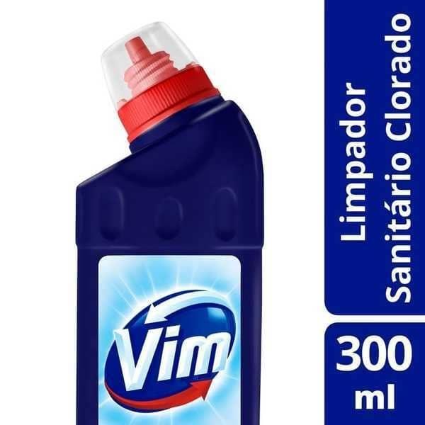 Limpador para Banheiro Cloro Ativo Original 300ml 1 UN Vim