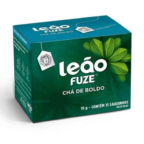 Chá de Boldo Sachê 1g CX 15 UN Leão