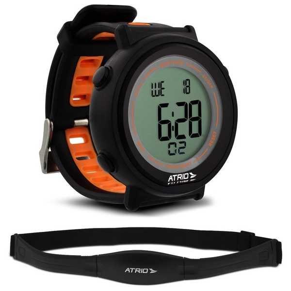 Relógio Monitor Cardíaco Fortius com Cinta Torácica ES049 Atrio