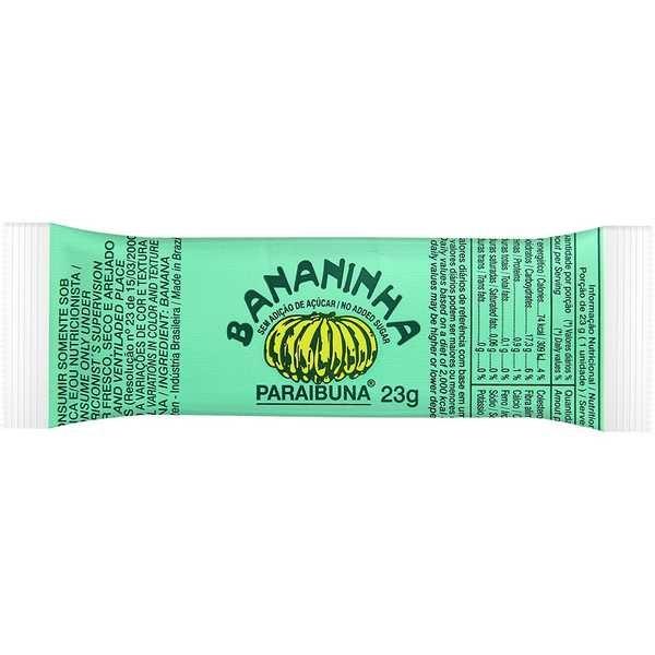 Doce de Bananinha sem Açúcar 23g 1 UN Paraibuna