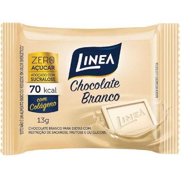 Chocolate Branco Zero 13g 1 UN Linea