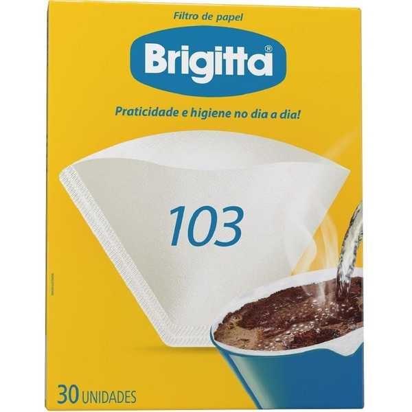Filtro de Papel Nº103 CX 30 UN Brigitta