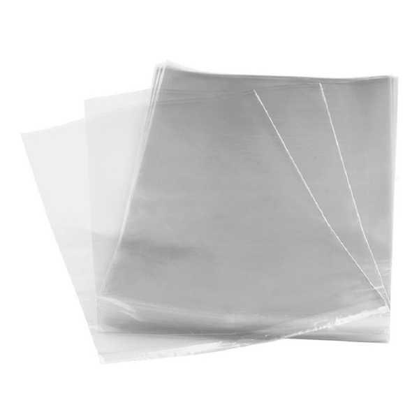 Saco para Presente Transparente 20x29cm PT 100 UN Cromus