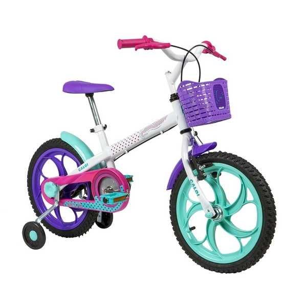 Bicicleta Ceci Aro 16 Branco Caloi