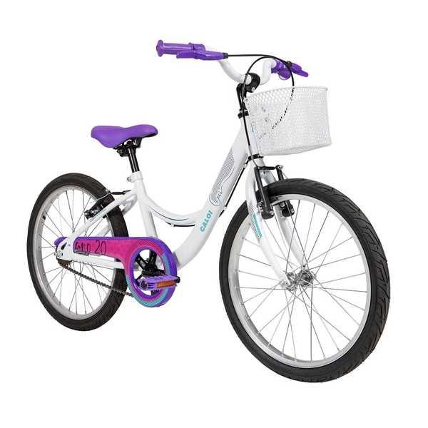 Bicicleta Ceci SR Aro 20 Branco Caloi