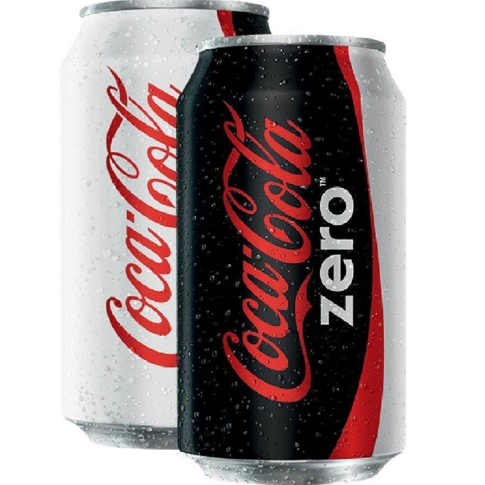 Refrigerante Coca Cola Zero 350ml Lata