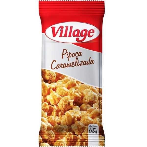 Pipoca Caramelizada 65g 1 UN Village