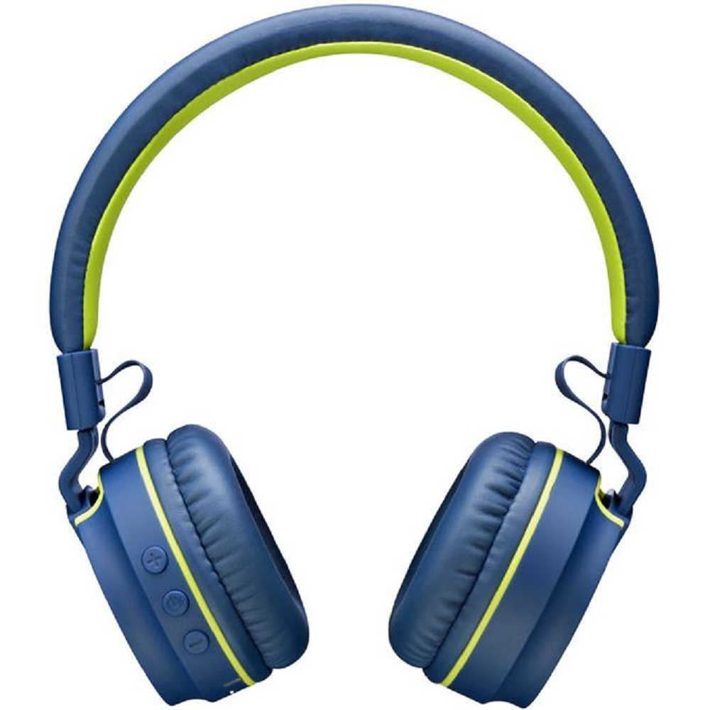 Headphone Fun Bluetooth Azul e Verde PH218 Pulse