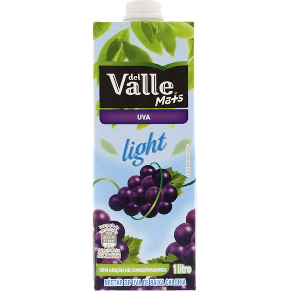 Suco de Uva Light 1L 1 UN Del Valle