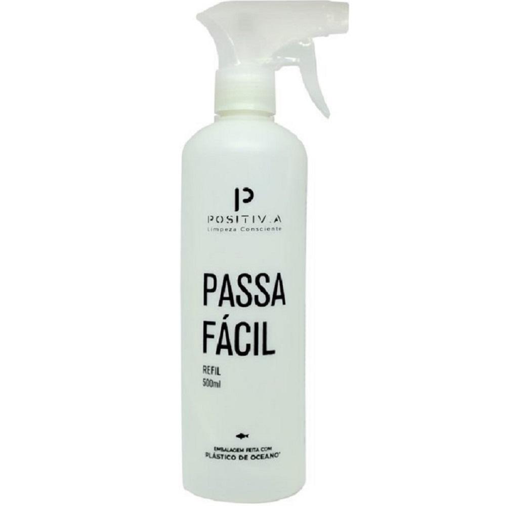 Frasco Auxiliar Passa Fácil Borrifador 500ml 1 UN Positiv.a