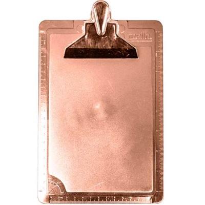 Prancheta DelloColor 1/2 Ofício Rosa Gold 1 UN Dello