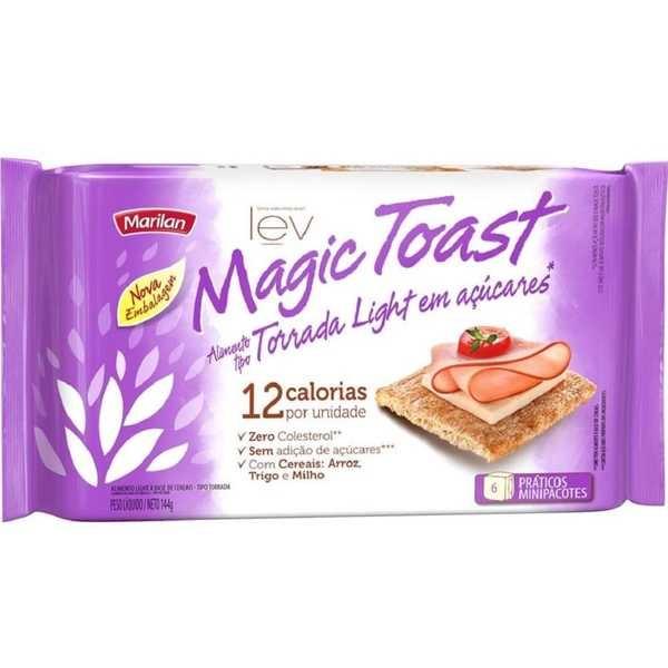 Torrada Magic Toast Light 144g 1 UN Marilan