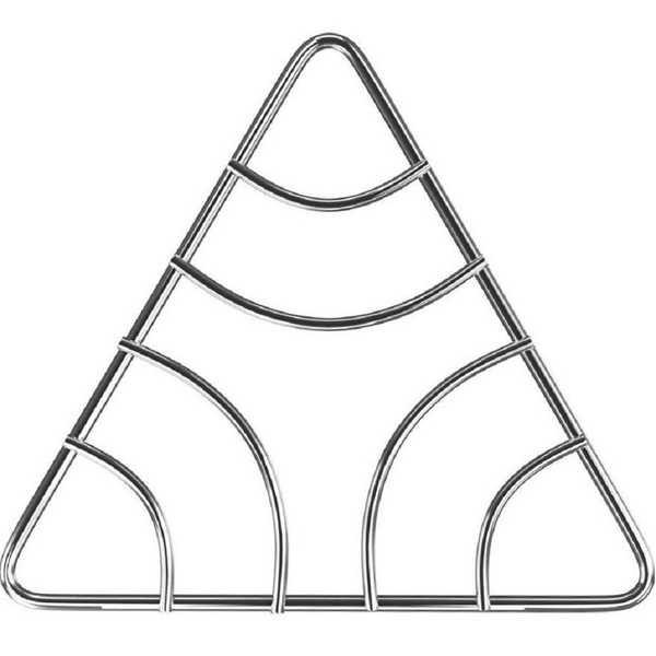 Descanso de Panelas Triangular 1 UN Euro