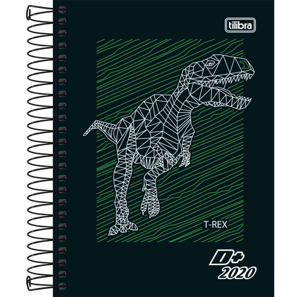 Agenda 2020 D+ Espiral Masculina C 117x164mm 176 FL Tilibra