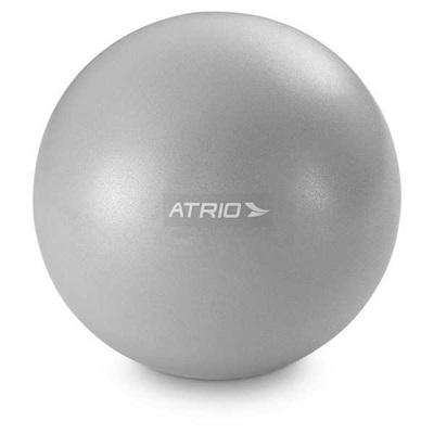 Mini Bola Fitness 18cm PVC Cinza ES238 1 UN Atrio