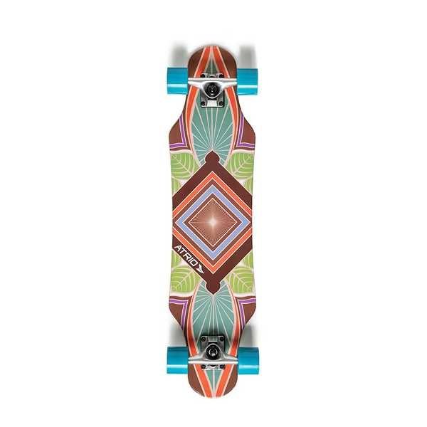 Skate Longboard Urban Trance Rodas de Polímero e Truck em Metal ES250 1 UN Atrio