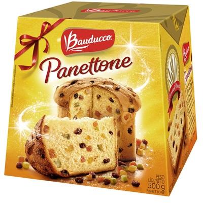 Panettone Frutas 500g 1 UN Bauducco