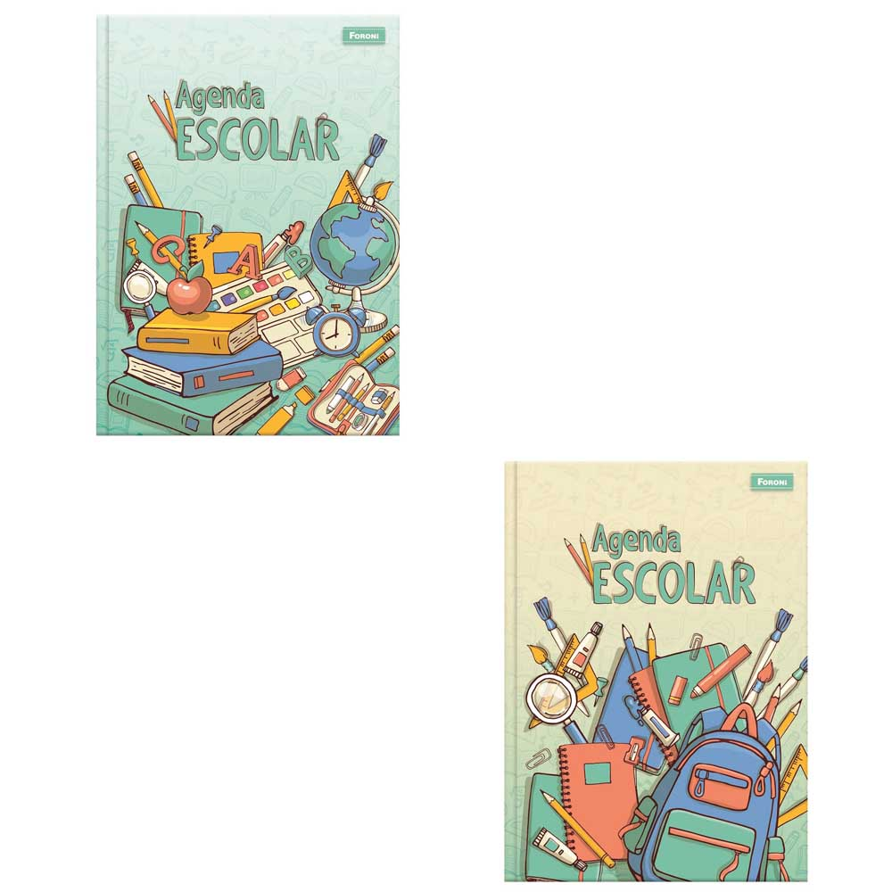 Agenda Escolar Infantil Permanente 105x148mm Sortidas 96 FL Foroni