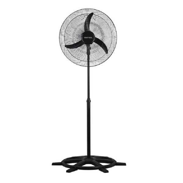 Ventilador Oscilante New Comercial Coluna 60cm 220V Preto 1 UN Ventisol