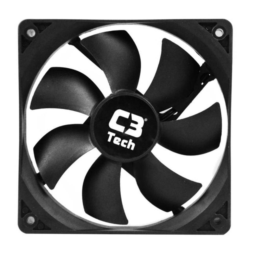 Cooler Fan Gamer Storm F7-100BK Preto C3Tech