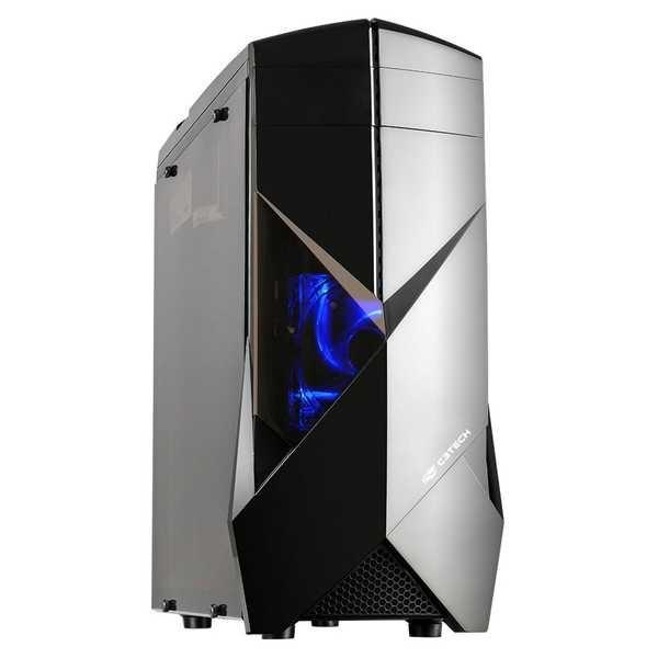 Gabinete Gamer sem fonte MT-G300BK Preto C3Tech