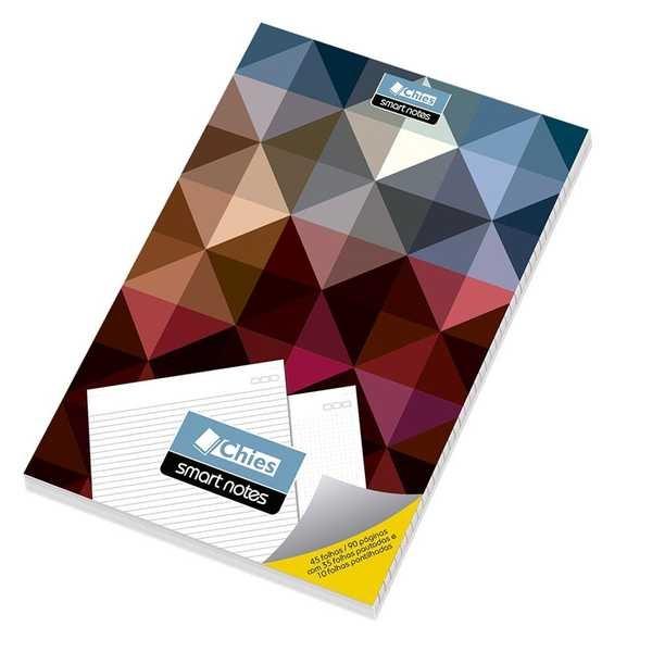 Bloco de Anotações Smart Note Abstrato A4 45 Folhas 1 UN Chies