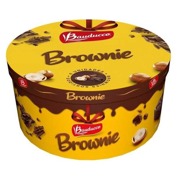 Brownies Lata Mista 180g Bauducco