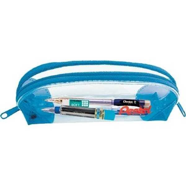 Estojo Escolar Pen Case Azul Kit 1 UN Pentel