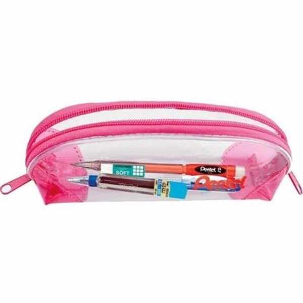 Estojo Escolar Pen Case Rosa Kit 1 UN Pentel