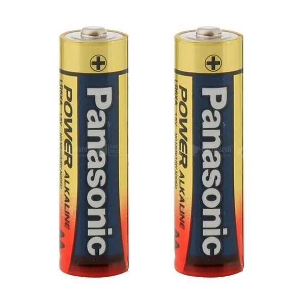 Pilha Alcalina Pequena AA 2 UN Panasonic