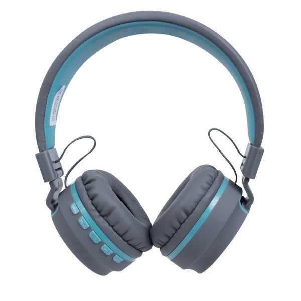 Headphone Candy Bluetooth Azul Pastel HS310 1 UN OEX