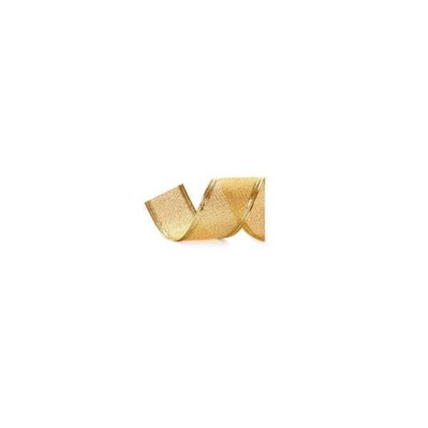 Fita Aramada Metal 27mm x 10m Ouro 294010 1 UN Cromus