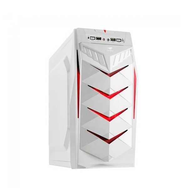 Gabinete Gamer sem fonte MT-G70WH Branco C3Tech