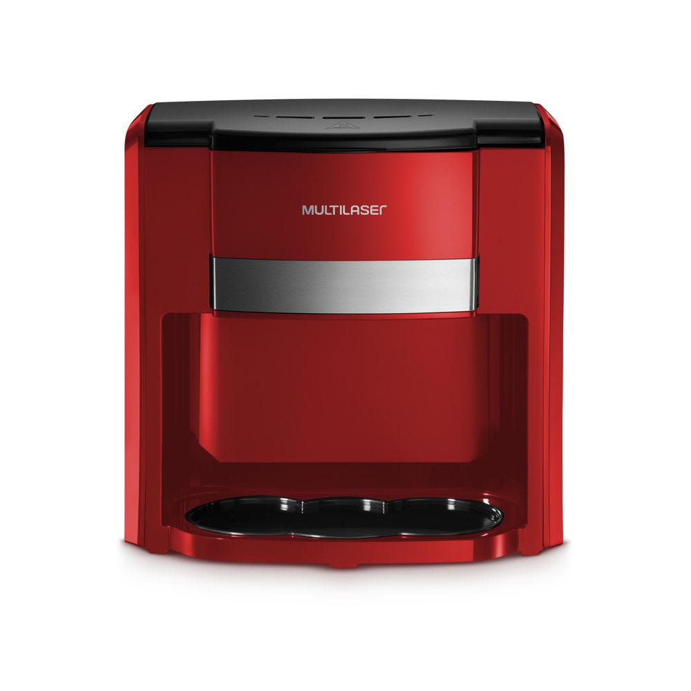 Cafeteira Elétrica 127V 500W Vermelho 1 UN Multilaser