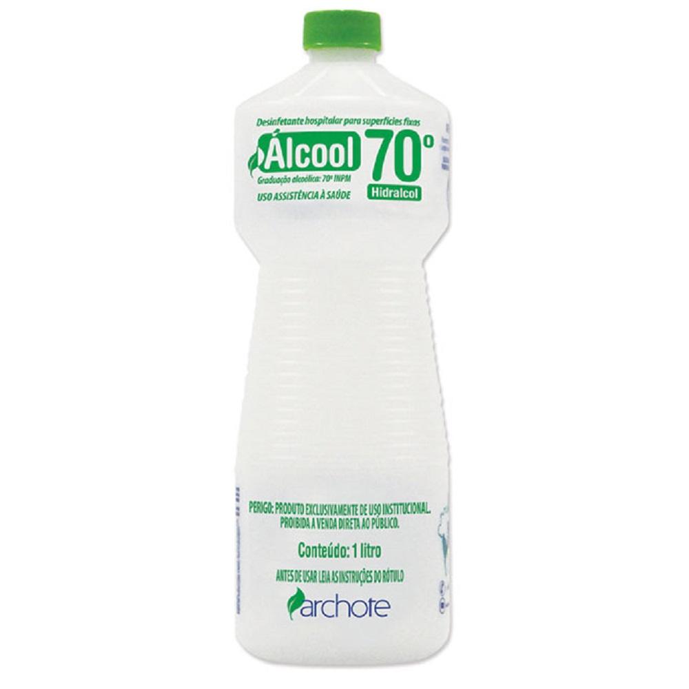 Álcool Líquido 70° Agifácil 1L 1 UN Archote