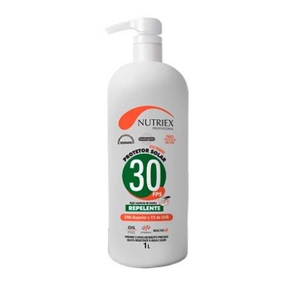 Protetor Solar FPS 30+ Repelente Dosador 1L 1 UN Nutriex