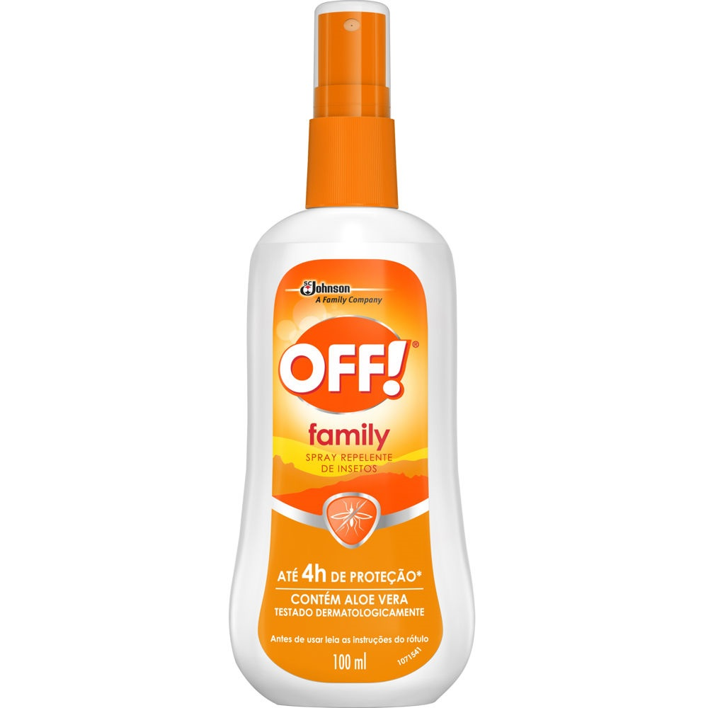 Repelente Family Spray 100ml 1 UN Off